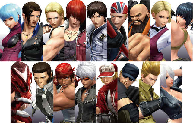 king of fighters: world