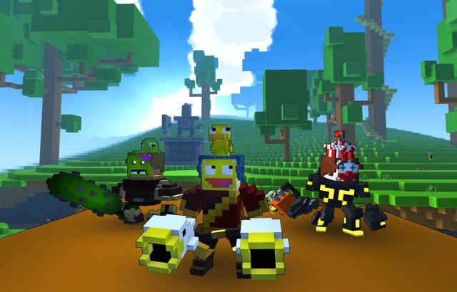 Trove launch for consoles