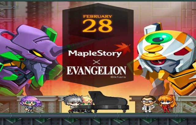 Maplestory Best Class 2020.Maple Story Mmo Gets Crossover Event With Evangelion Anime