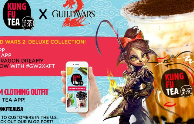 Guild Wars 2 Partners With Kung Fu Tea For 6th Anniversary